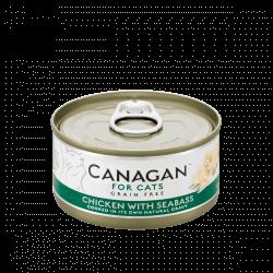 Canagan konservai su vištiena ir jūros ešeriu katėms