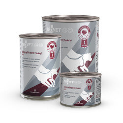 Trovet Unique Protein Turkey dietinis pašaras su kalakutiena