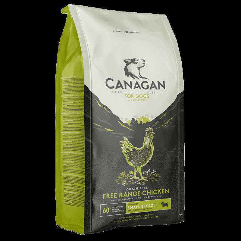 Canagan Free Run Chicken sausas maistas mažų veislių šunims
