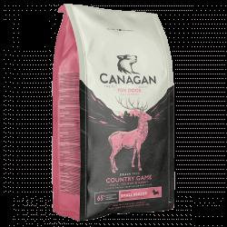 Canagan Country Game sausas maistas su antiena, triušiena ir elniena mažų veislių šunims