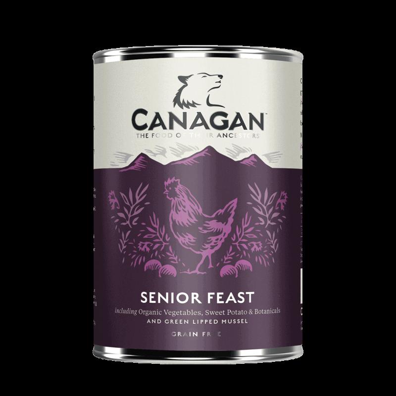 Canagan Senior Fest konservai su vištiena ir kalakutiena šunims