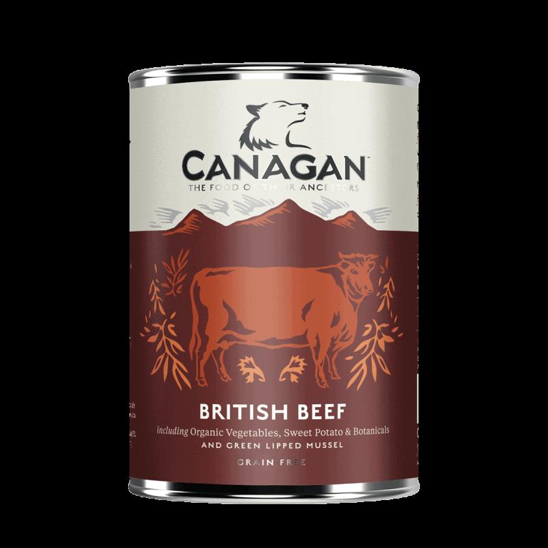 Canagan British Beef konservai su jautiena šunims