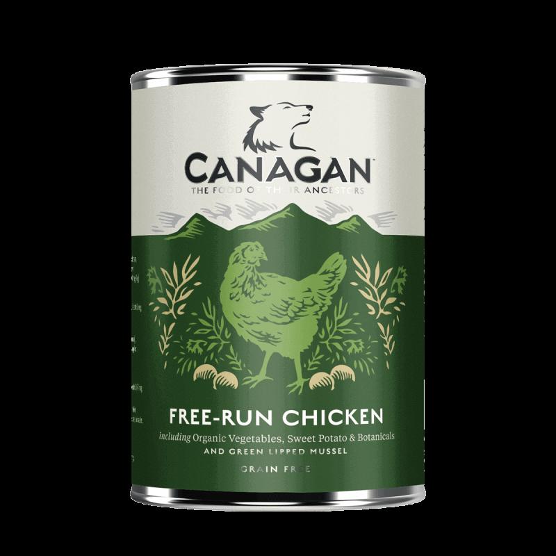 Canagan Free Run Chicken konservai su laisvėje užaugintų viščiukų mėsa šunims