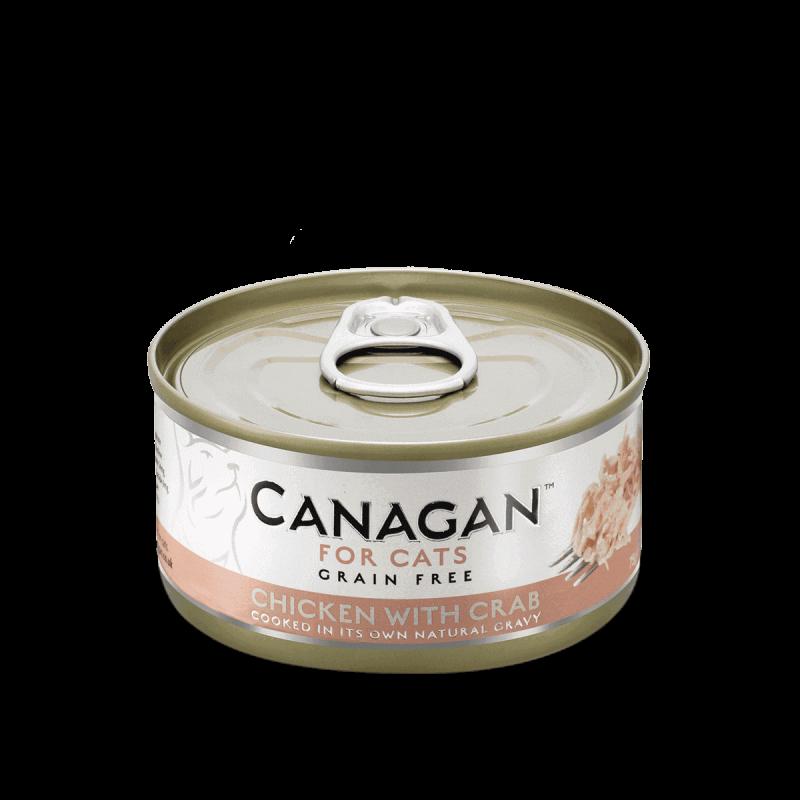 Canagan konservai su vištiena ir krabais natūraliose savo sultyse katėms