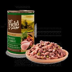 Sam's Field True Chicken Meat & Carrot konservai šunims