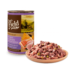 Sam's Field Salmon & Chicken With Pumpkin konservai šunims