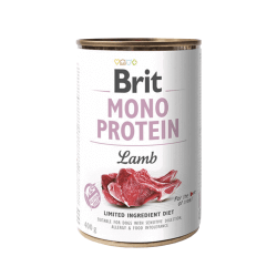 Brit Care Mono Protein Lamb vieno baltymo konservai šunims