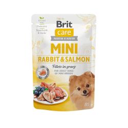 Brit Care Mini konservai su triušienos ir lašišos file mažų veislių šunims