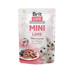 Brit Care Mini konservai su ėrienos file mažų veislių šuniukams
