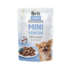 Brit Care Mini konservai su elnienos file mažų veislių šunims