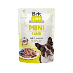 Brit Care Mini konservai su ėrienos file mažų veislių šunims