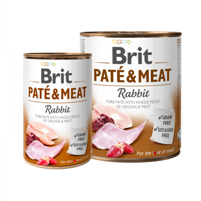 Brit Care Rabbit Pate & Meat konservai šunims