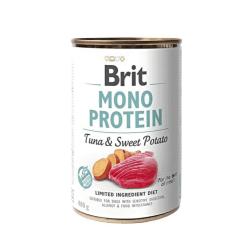 Brit Care Mono Protein Tuna & Sweet Potato vieno baltymo konservai šunims