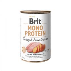 Brit Care Mono Protein Turkey & Sweet Potato vieno baltymo konservai šunims