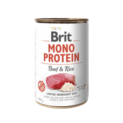 Brit Care Mono Protein Beef & Rice vieno baltymo konservai šunims