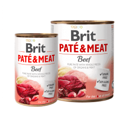 Brit Care Beef Pate & Meat konservai šunims
