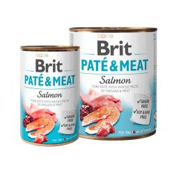 Brit Care Salmon Pate & Meat konservai šunims