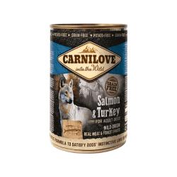 Carnilove Wild Meat Salmon & Turkey konservai šunims