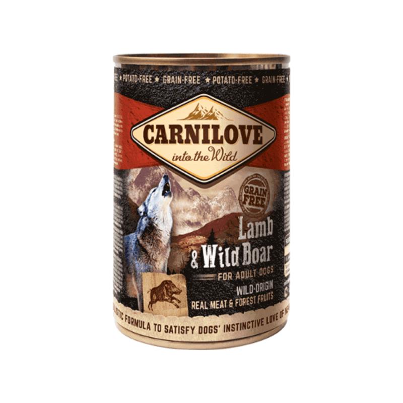 Carnilove Wild Meat Lamb & Wild Boar konservai šunims
