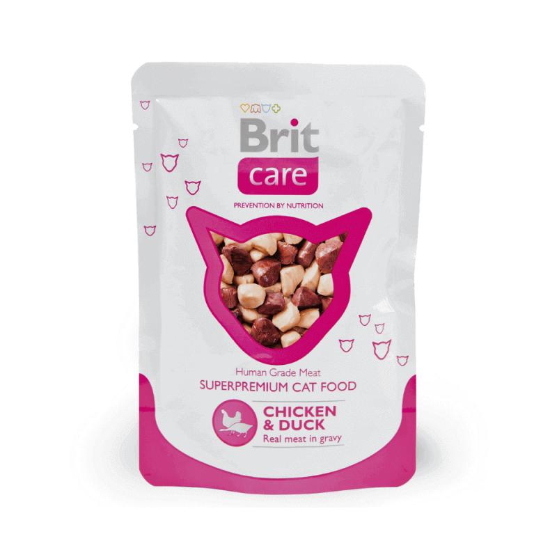Brit Care Chicken & Duck konservai katėms