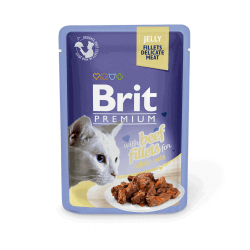 Brit Premium Delicate Beef in Jelly konservai katėms