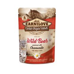 Carnilove konservai su šerniena ir ramunėlėmis katėms