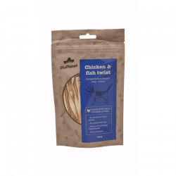 BioPlanet Chicken & Fish Twist skanėstai šunims