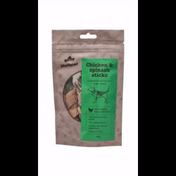 BioPlanet Chicken & Spinach Sticks skanėstai šunims