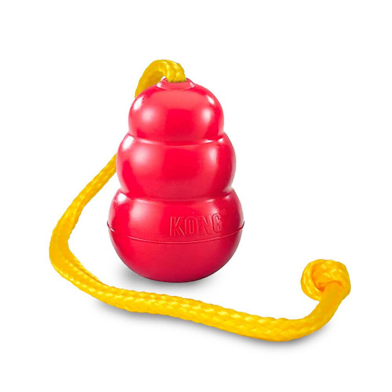 KONG Classic žaislas su virve šunims