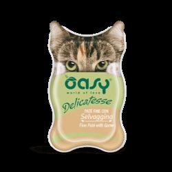 Oasy Delicatesse paštetas su žvėriena suaugusioms katėms