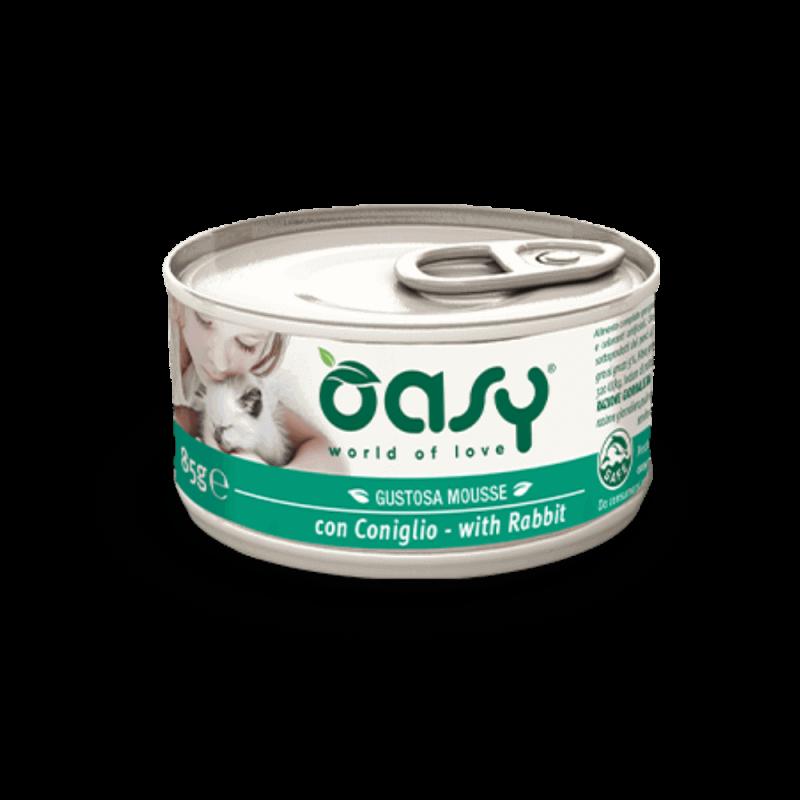 Oasy konservai su triušiena suaugusioms katėms