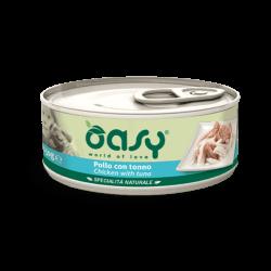 Oasy konservai su vištiena ir tunu suaugusiems šunims