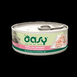 Oasy konservai su vištiena ir lašiša suaugusiems šunims