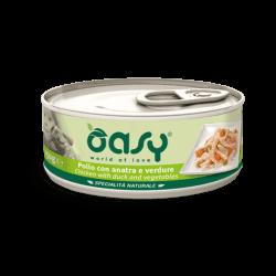 Oasy konservai su vištiena, antiena ir daržovėmis suaugusiems šunims