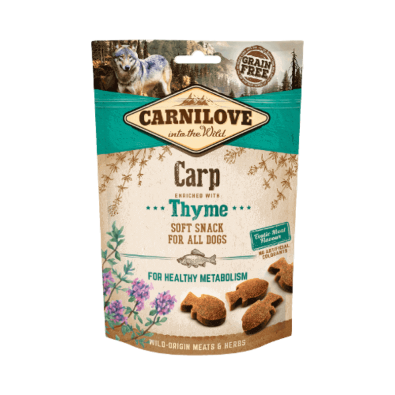 Carnilove Carp with Thyme skanėstai šunims