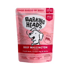 Barking Heads Beef Waggington konservai su jautiena šunims