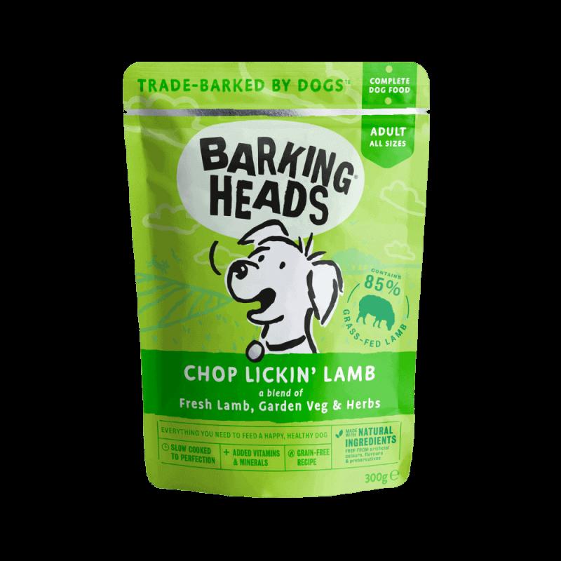 Barking Heads Chop Lickin' konservai su ėriena šunims