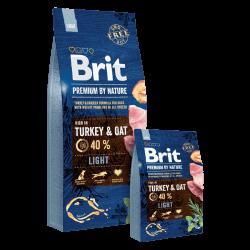 Brit Premium by Nature Light sausas maistas šunims