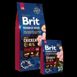 Brit Premium by Nature Senior L+XL sausas maistas šunims