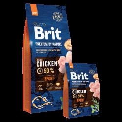 Brit Premium by Nature Sport sausas maistas šunims