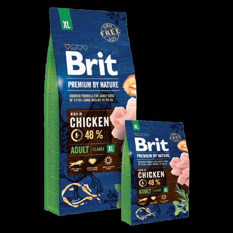 Brit Premium by Nature Adult XL sausas maistas šunims