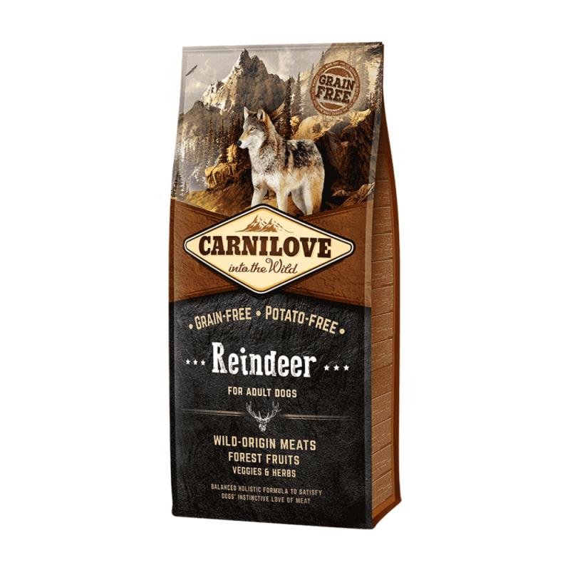 Carnilove Reindeer for Adult sausas maistas šunims