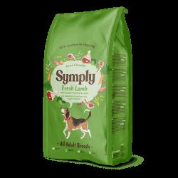 Symply Adult sausas maistas su šviežia ėriena visų veislių suaugusiems šunims