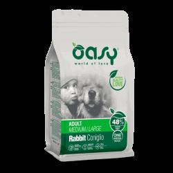 Oasy Adult Medium & Large Rabbit sausas maistas su triušiena šunims