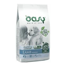 Oasy Puppy All Breed Lamb sausas maistas su ėriena visų veislių šuniukams