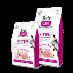 Brit Care Cat Kitten Healthy Growth begrūdis sausas maistas kačiukams