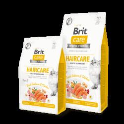 Brit Care Cat Haircare sausas maistas katėms