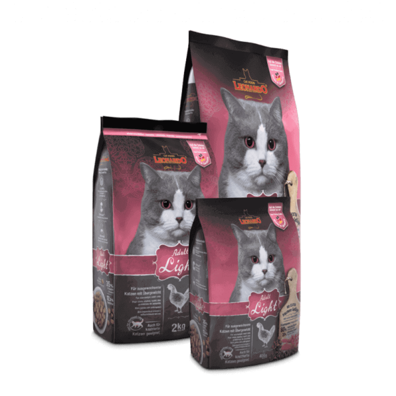 Leonardo Adult Light sausas maistas katėms