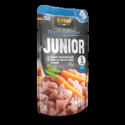 Belcando Junior konservai su vištiena ir morkomis jauniems šunims