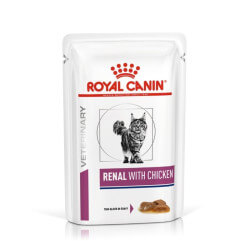 Royal Canin VD Cat Renal Chicken konservai katėms